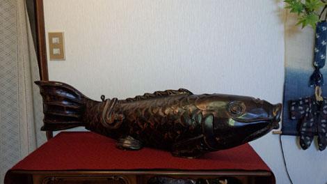 囲炉裏 鯉