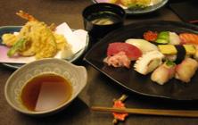 寿司定食b
