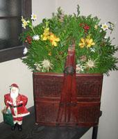 豊遊美クリスマスのお飾り