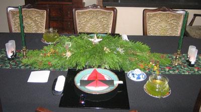 クリスマスの宴 setting