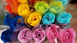 お花の香りの入浴剤