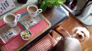 アフターのお茶タイム