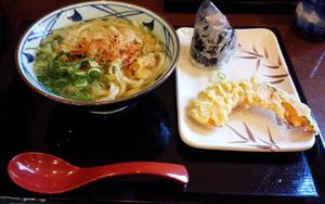 お昼 讃岐うどん+α