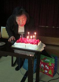 先生誕生日前祝い2