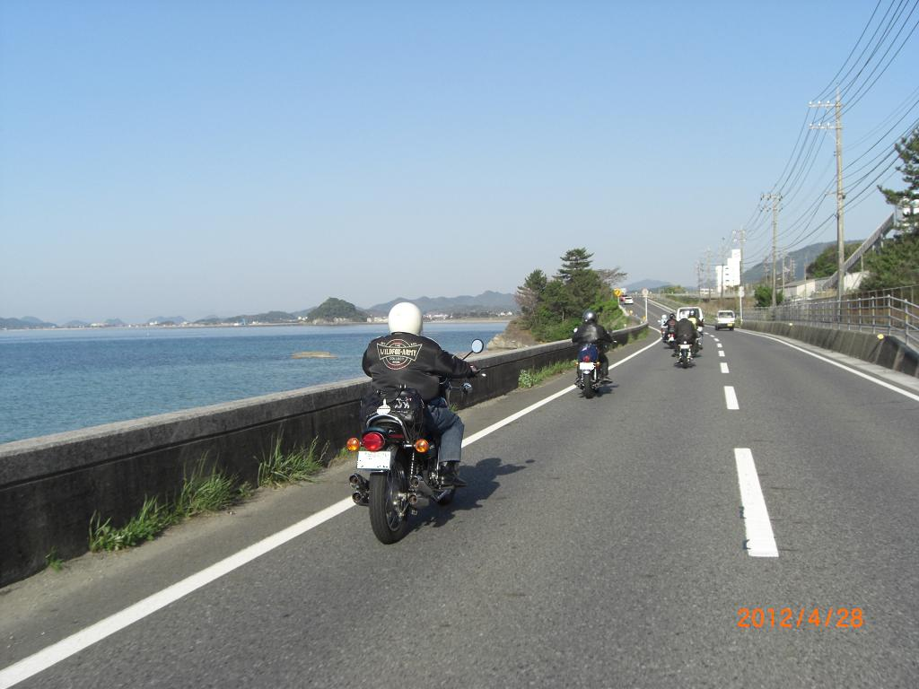 角島から長門へ