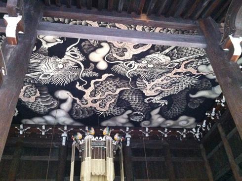 120810京都建仁寺双龍図