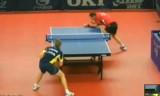 【卓球】 セイブVSパーソン スウェーデンオープン2013