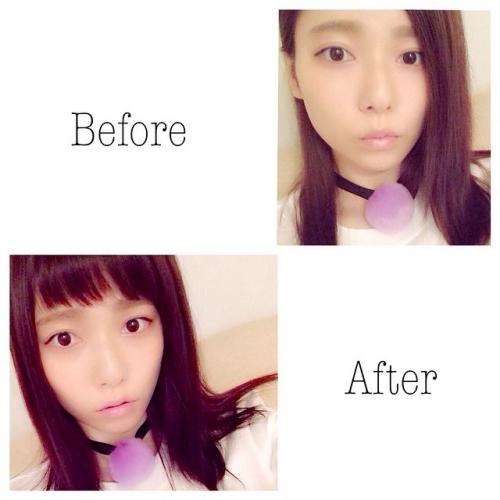 島崎遥香、前髪ざっくりカットでイメチェン1