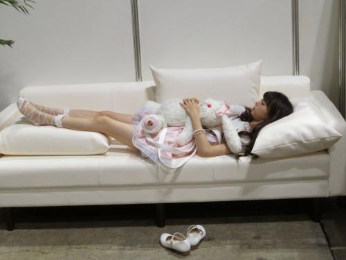 NMBのフレッシュレモン市川美織(20) 寝顔が可愛すぎると話題に「まるで天使」 「みおりんカワイイ!」 ファン大興奮2