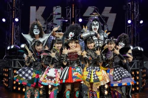 ももクロと米ハードロックバンド「KISS」がコラボ!来年1月にシングルを発売13
