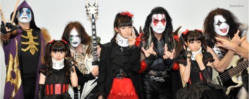 ももクロと米ハードロックバンド「KISS」がコラボ!来年1月にシングルを発売14