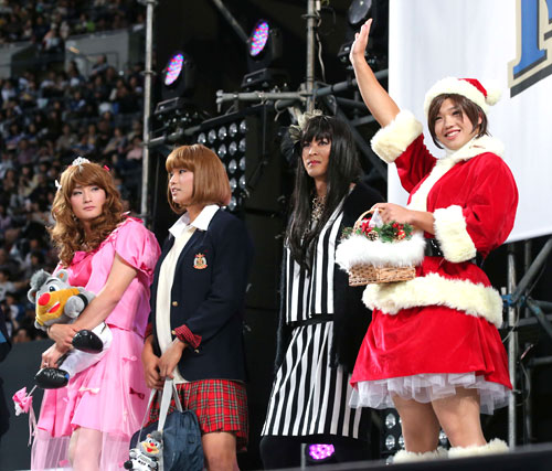 かわいすぎる!剛力似の日ハム谷口きゅんが女装コンテンストで優勝17