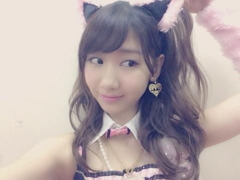 AKB48 柏木由紀が「セクシーな猫の衣装」を公開 「かわいすぎ」と話題に2
