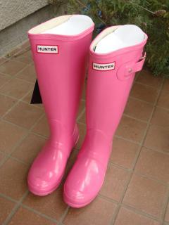 hunter gloss pink