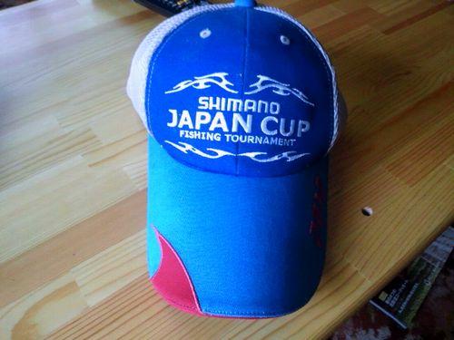 シマノJC帽子