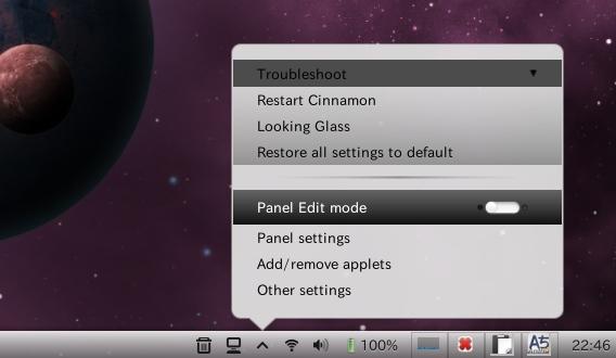 Mictlan Ubuntu Cinnamon テーマ Settings