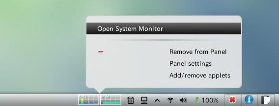 Cinnamon Extras PPA Ubuntu Hardware monitor applet