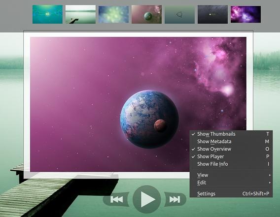 nomacs Ubuntu 画像ビューア 使い方