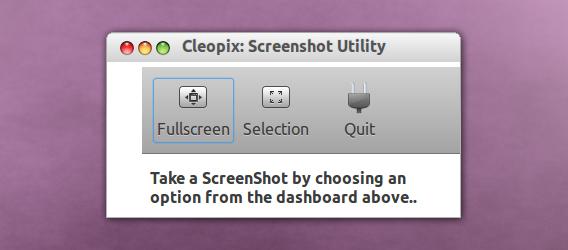 Cleopix Ubuntu 画面キャプチャ