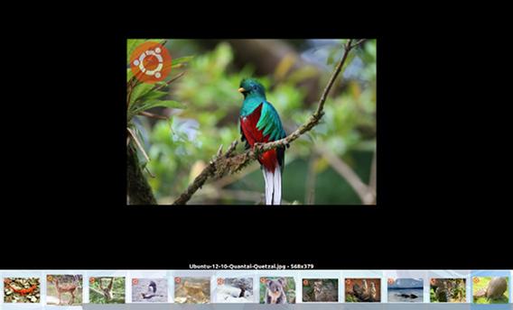 Limoo Ubuntu 画像ビューア スライドショー