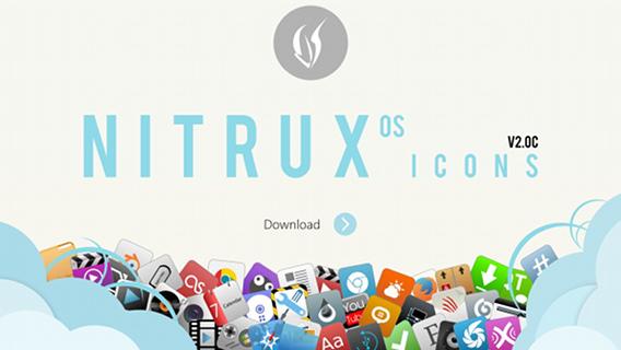 Nitrux OS Icons Ubuntu アイコン