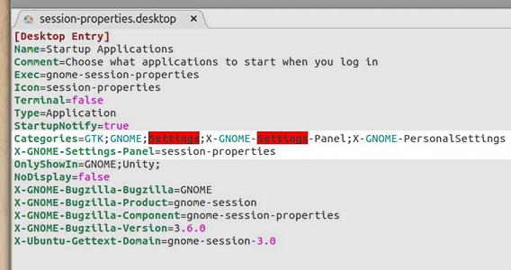 Ubuntu システム設定 自動起動するアプリケーションの追加