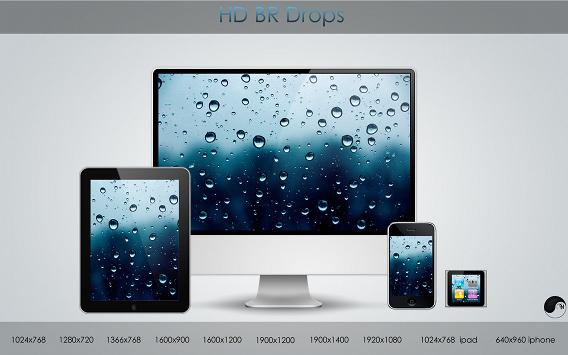 Ubuntu 壁紙 HD BR Drops