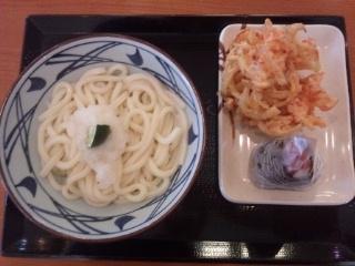 120516 丸亀製麺 水島インター店 日替わりセット