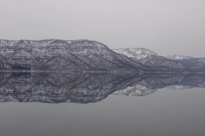 十和田湖鏡面
