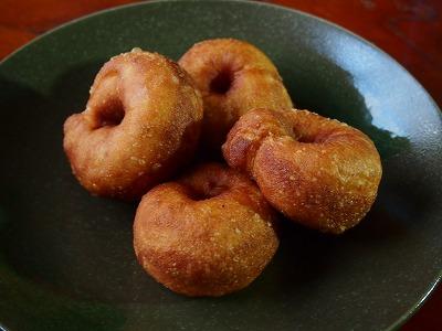 ベーグル的酵母ドーナッツ1