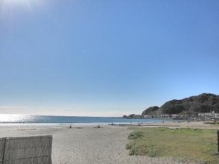 あの日の海。