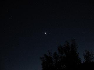 宵の明星。