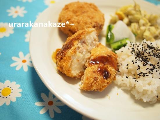 豚肉甘辛煮のコロッケ