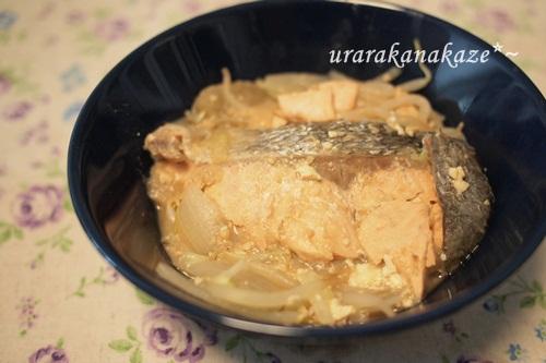 味噌汁の残り物で味噌鍋風
