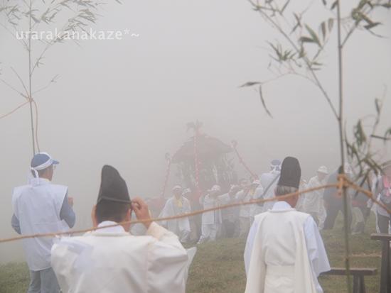 剣山 神輿渡御