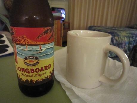 ビールと・・・