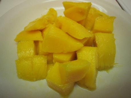 甘さが少ないマンゴー