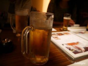 やっぱり生で乾杯!
