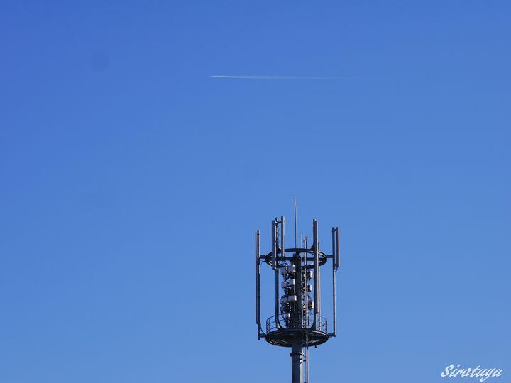 アンテナと飛行機