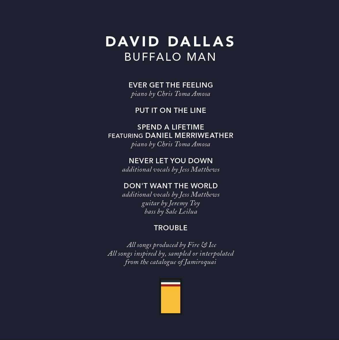 00 David Dallas – Buffalo Man2