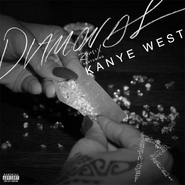 Rihanna - Diamonds (Remix) Ft. Kanye West
