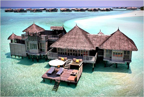 モルディブでの壮大なエコリゾート