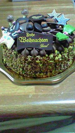 デメルクリスマスケーキ1