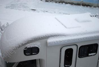 アミティ雪下ろし