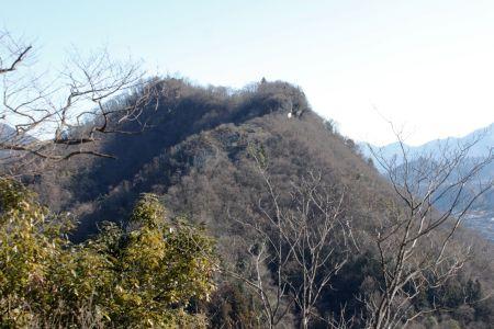 兜岩から岩殿山