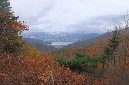 河口湖遠望