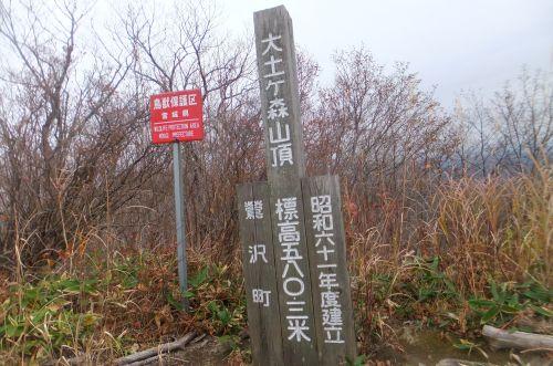 大土ヶ森山頂