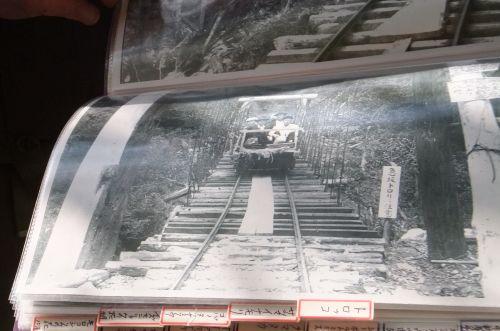 昔のトロッコ電車