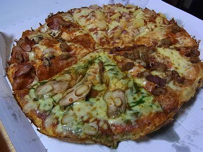 お誕生日ピザ