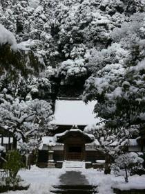 雪の舎利殿